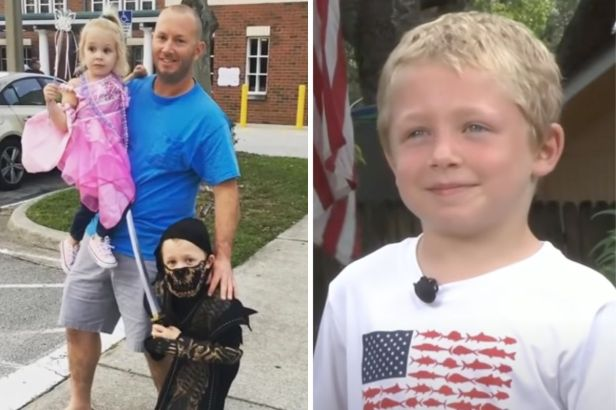 7-Year-Old Boy Saves 4-Year-Old Sister and His Father from Boating Mishap