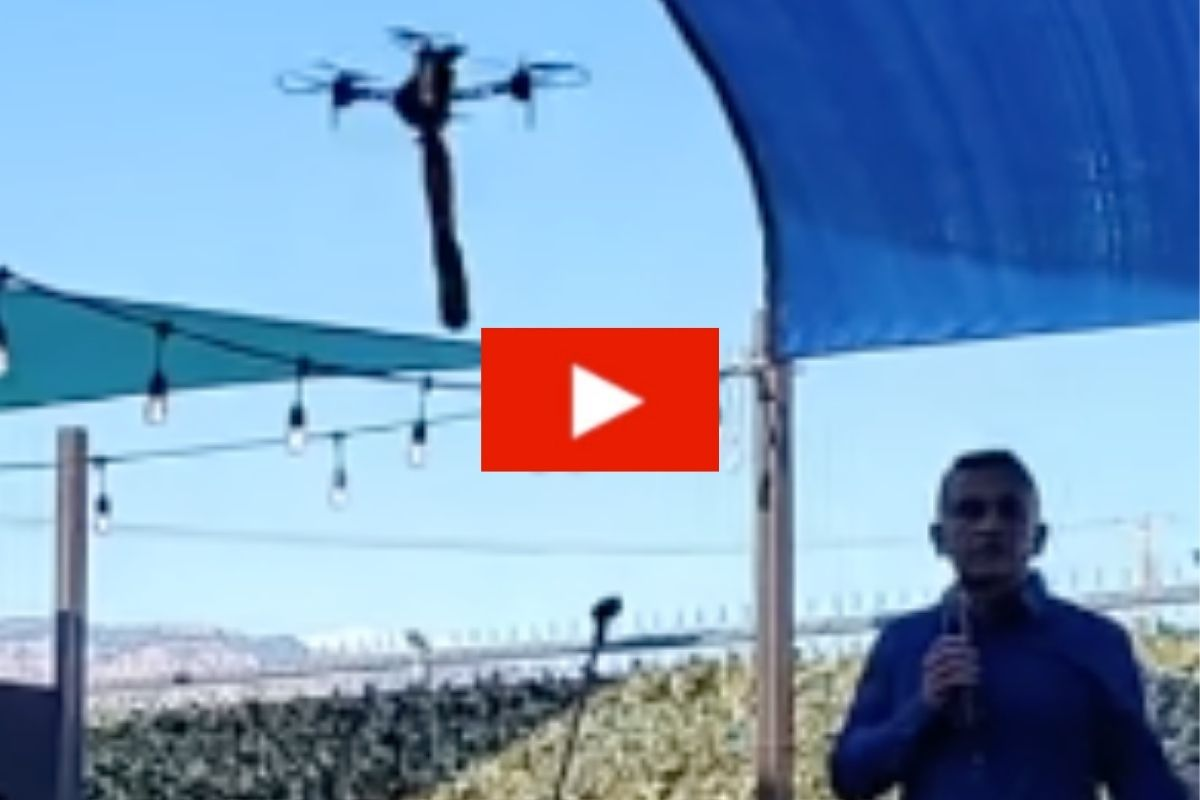 Mayoral Candidate Speech Interrupted by Dildo Attached to Flying Drone