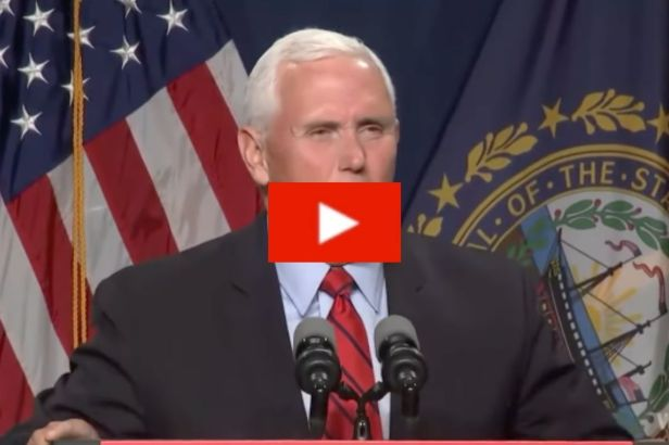 """Mike Pence Has Never Seen """"Eye to Eye"""" with Trump on Capitol Riots"""