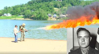 97-Year-Old WWII Veteran Is Still a Flamethrower Expert
